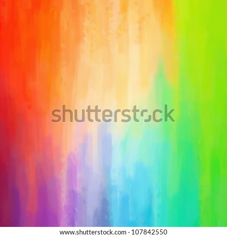 Digital structure of painting. abstract oil paint blue green background - stock photo