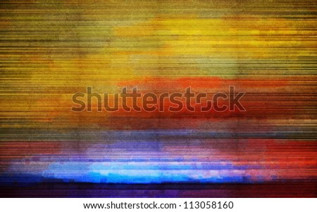 Digital structure of painting. Color water color abstract background