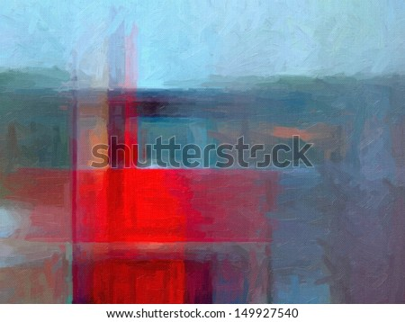 Digital structure of painting. Oil paint background  - stock photo