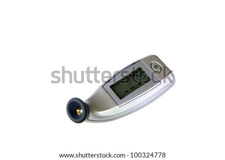 Digital temporal thermometer