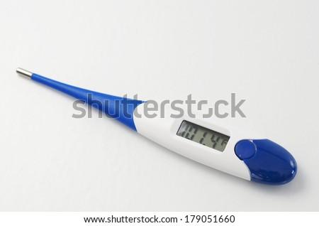 Digital Thermometer  - stock photo