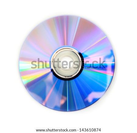 Digital Versatile Disc - stock photo