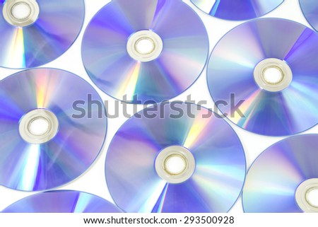 Digital Versatile Disc background - stock photo