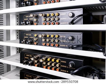 Digital video recorder - stock photo