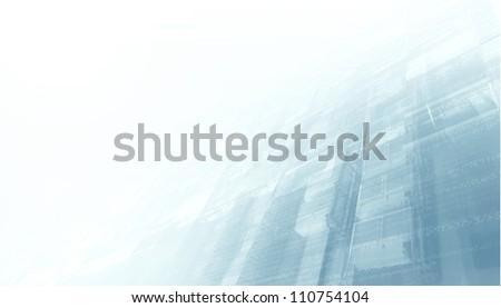 Digital Wall - stock photo