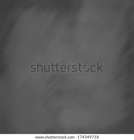 Digitally created chalkboard background in dark gray. - stock photo