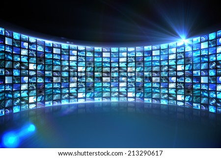 Screen Wall Stock Images Royalty Free Images Amp Vectors