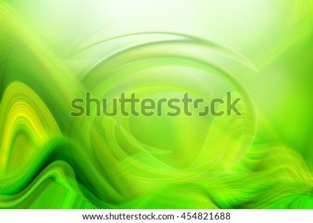 Digitally Generated Image of light and wave pattern - stock photo