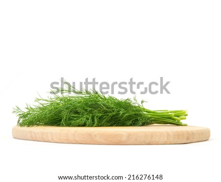 dill on wood