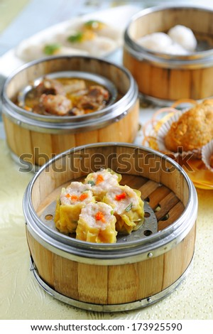 Dim Sum - stock photo