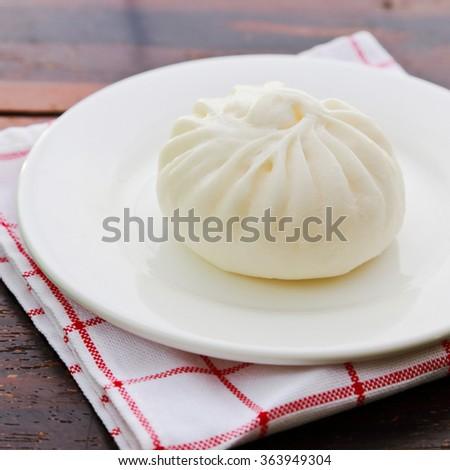 Dim sum dumpling - stock photo