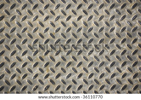 dimond metal surface / abstract industrial background / - stock photo
