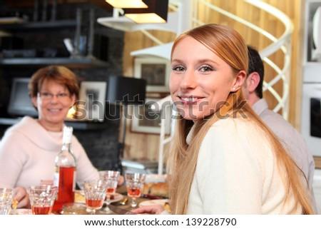 Dinner - stock photo