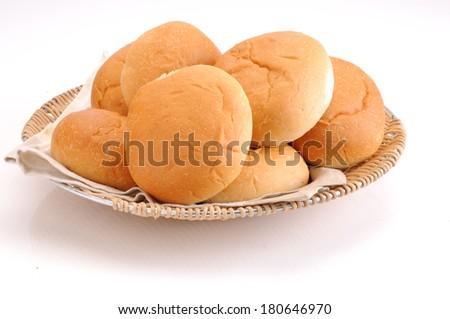 Dinner Buns - stock photo