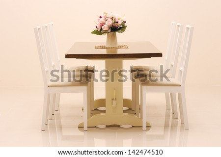Dinner table - stock photo