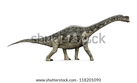 Dinosaur Europasaurus Computer generated 3D illustration