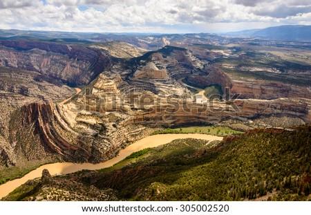 Dinosaur National Monument - stock photo