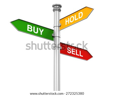 Direction Sign of Buy, Sell and Hold