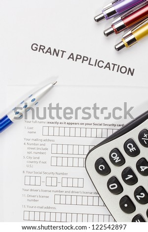 Grant Application Stock Photos RoyaltyFree Images  Vectors