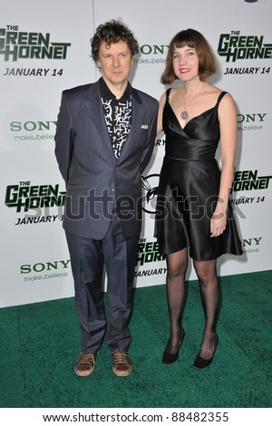 "Director Michel Gondry at the Los Angeles premiere of his new movie ""The Green Hornet"" at Grauman's Chinese Theatre, Hollywood. January 10, 2011  Los Angeles, CA Picture: Paul Smith / Featureflash"