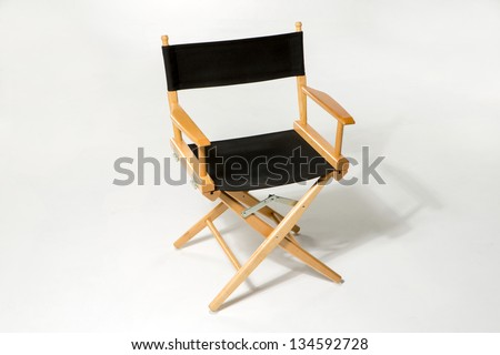 Director's Chair - stock photo