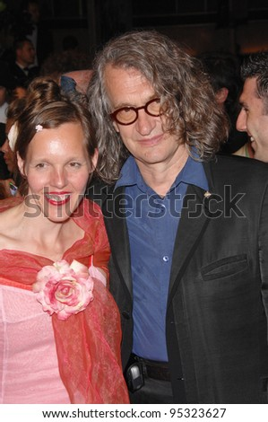"Director Wim Wenders & wife Donata at the screening of ""U2 3D"" at the 60th Annual International Film Festival de Cannes.  May 19, 2007  Cannes, France.  2007 Paul Smith / Featureflash"