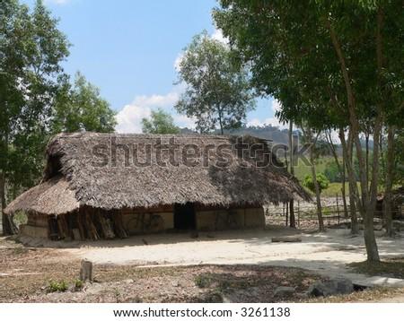 Dirt Cottage - stock photo