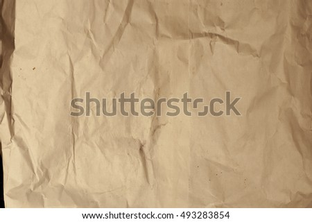 Dirty and weathered old paper texture background