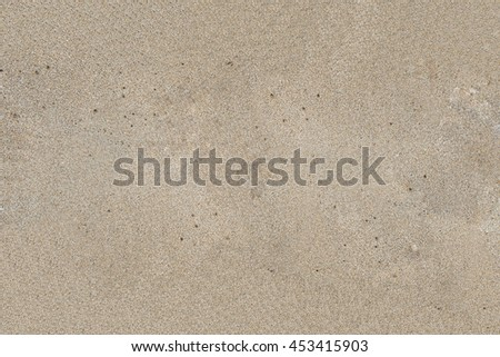 Dirty beach sand texture background, no body