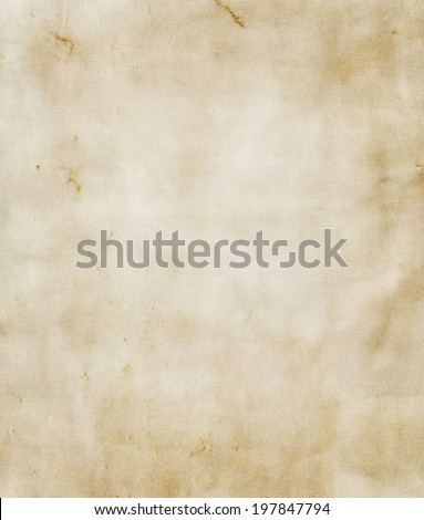 Dirty brown, grunge paper texture