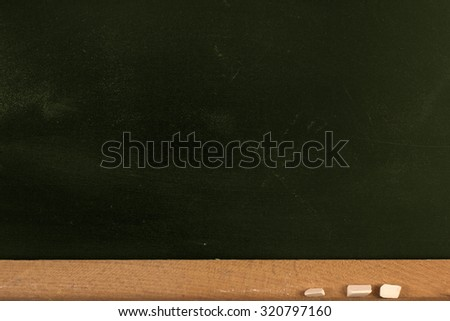 Dirty Chalkboard./ Dirty Chalkboard - stock photo