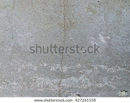 Dirty concrete crack wall texture background