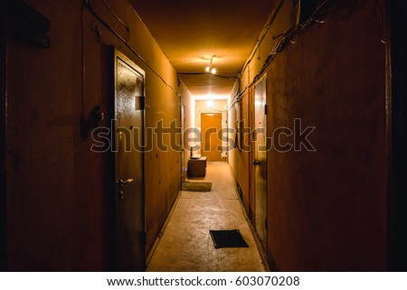 Corridor Door Apartment Stock Images Royalty Free Images