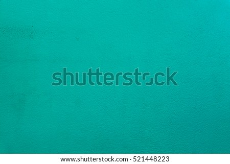 Dirty Grunge Green Cement or Concrete Wall as Texture Background