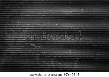 Dirty metal background or texture with highlight - stock photo