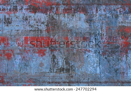Dirty Metal Texture (Part of Grungy Textures set, which includes textures that can be used together to create a huge image) - stock photo