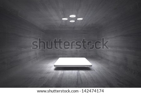 dirty operating - stock photo