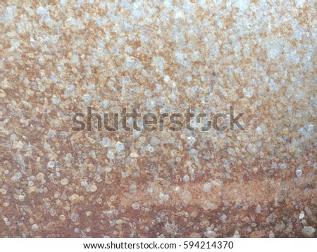Dirty rusty metal plate texture background