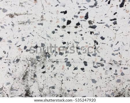 Dirty small stone floor texture background