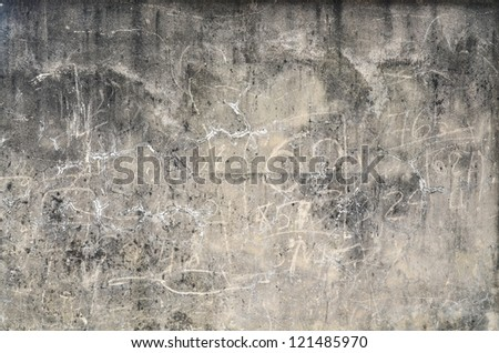 Dirty wall texture - stock photo