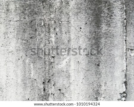 Dirty white cement wall background