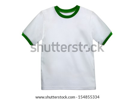 Dirty White Shirt - stock photo