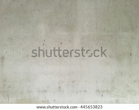 Dirty white wall.