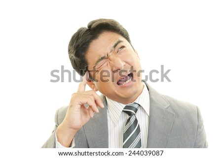 Disappointed businessman
