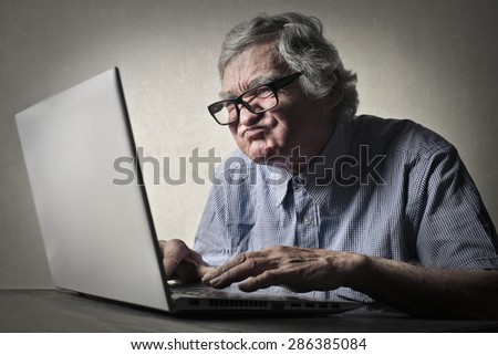 Disappointed businessman - stock photo