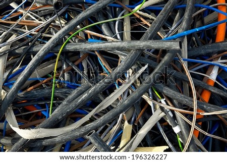 Discarded cables
