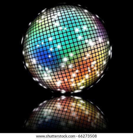 Disco Ball - stock photo