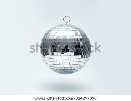 disco ball for dancing in a disco club - stock photo