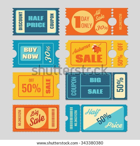 Discount thermal labels coupon