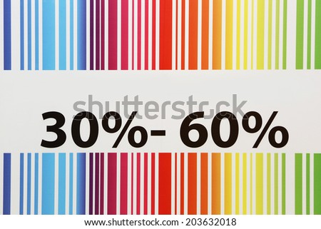 Discount sign Discount sign - add own text - concept - stock photo